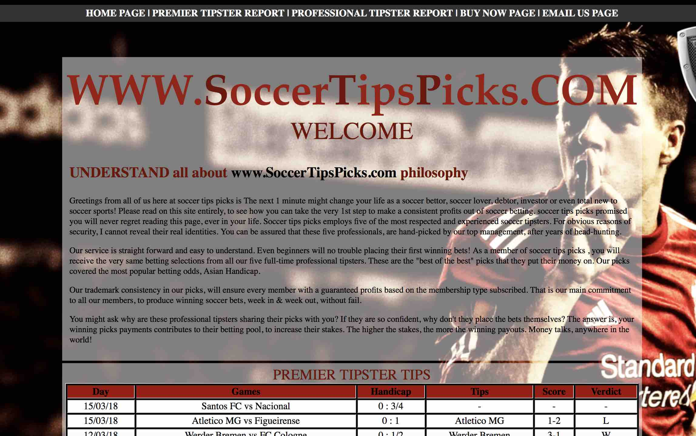 Monitored Tipster Page 2 | Tipster monitor