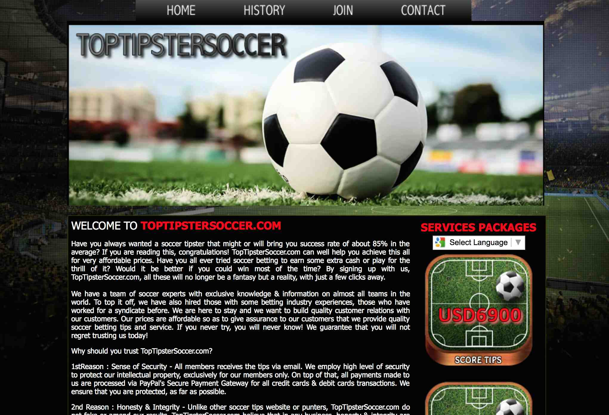 Top tipster soccer